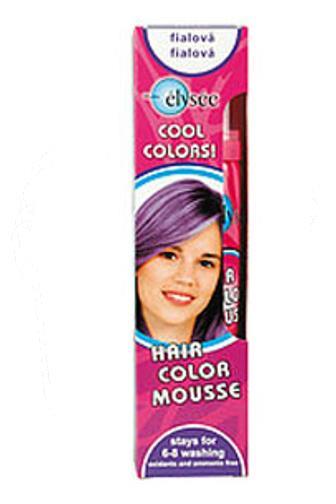 Elysee Barevné pěnové tužidlo - fialové 43