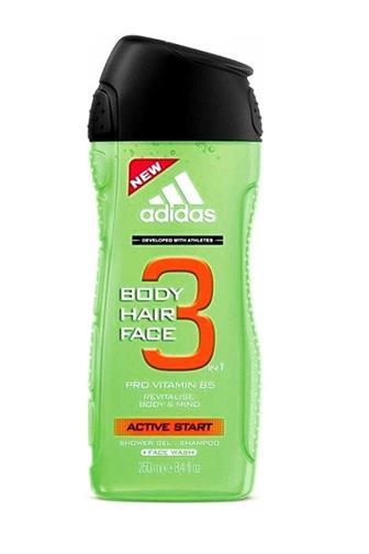 Adidas 3v1 Active Start sprchový gel 400 ml
