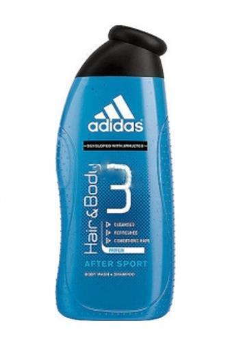 Adidas 3v1 After Sport sprchový gel 400 ml