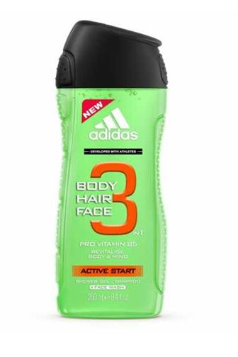 Adidas sprchový gel 3v1 Active Start 250 ml