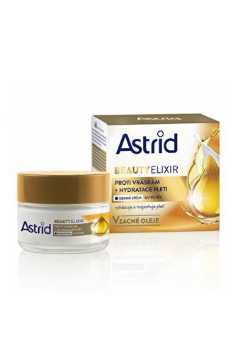 Astrid Hydratační denní krém proti vráskám s UV filtry Beauty Elixir 50 ml
