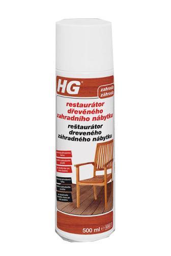 HG Restaurátor dřevěného zahradního nábytku 500 ml
