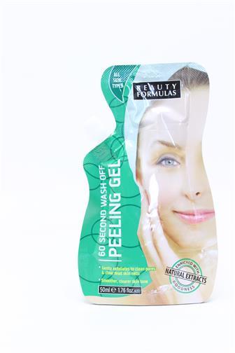Beauty Formulas peelingová maska (60 vteřin) 50 ml