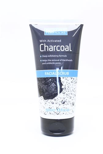 Beauty Formulas peeling s aktivním uhlím 150 ml