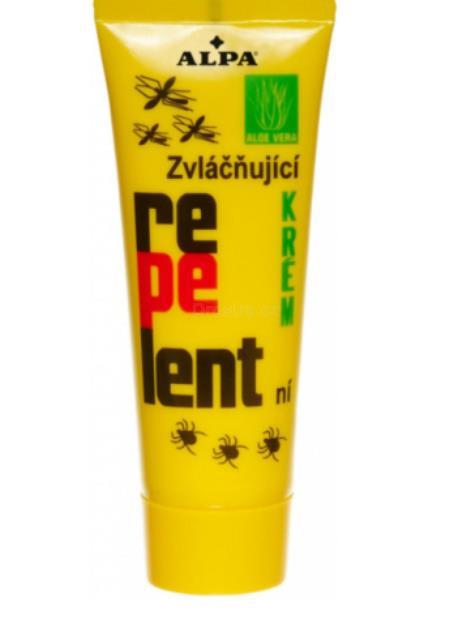 Alpa repelentní krém s aloe vera 75 ml