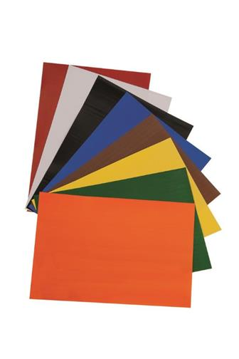 Barevné papíry A4 lepící 8listů