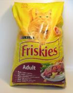 Friskies Cat Adult maso a zelenina 10kg