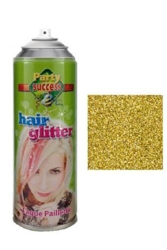 Fun Hair Glitter zlatý 125 ml