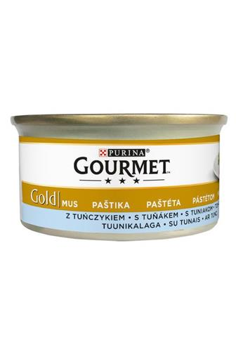 Gourmet Gold jemná paštika s tuňákem 85 g