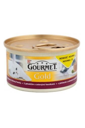 Gourmet Gold hovězí a kuřecí v rajčatové omáčce 85g