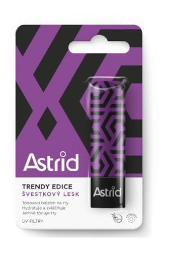 Astrid balzám na rty trendy švestkový lesk 4,8 g