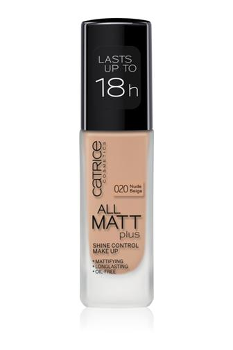 Catrice All Matt Plus make-up 020 Nude Beige 30 ml