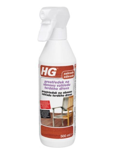HG prostředek na obnovu vzhledu tvrdého dřeva 500 ml