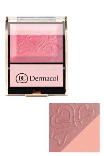 Dermacol BLUSH & ILLUMINATOR tvářenka s rozjasňovačem č.4 9 g