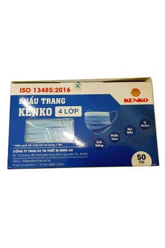 Hygienická rouška dětská 3vrstvá růžová/modrá 50ks