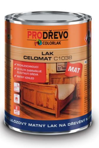 Colorlak Celomat C1038 nitrocelulózový matný lak 750 ml