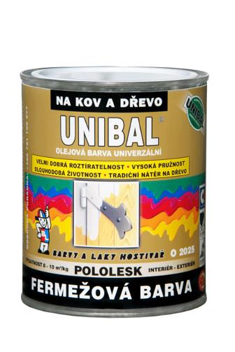 Unibal O2025/2430 hnědá čokoládová 1 kg