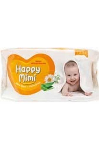 Happy Mimi dětské vlhč.ubrousky Aloe Vera 72 ks