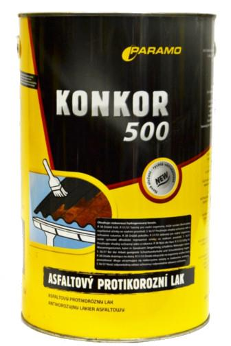 Konkor 500 asfaltový antikorozní lak 3.5kg