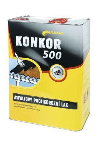 Konkor 500 asfaltový antikorozní lak 9kg