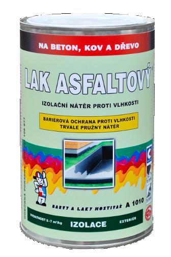 Lak asfaltový A1010 1999 černý 1 kg