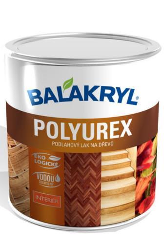 Balakryl Polyurex podlahový lak na dřevo lesklý 2.5 kg expirace 07/17