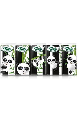 Tento papírové kapesníčky Panda 3 vrstvé 10 x 10 ks