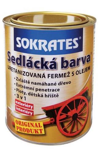 Sokrates sedlácká barva 0820 červená 0,7 kg