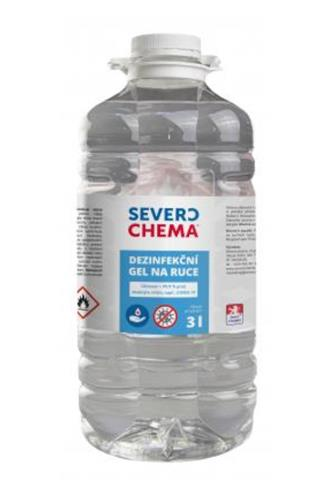 Severochema Dezinfekční gel na ruce 3 l