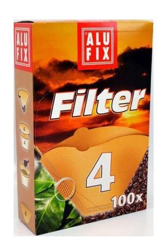 Alufix kávové filtry č.4 100 ks
