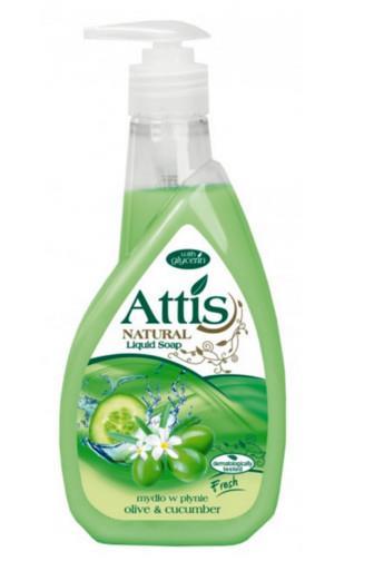 Attis oliva & okurka tekuteé mýdlo 400 ml