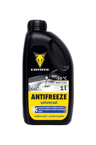 Coyote Antifreeze G11 Univerzal Ready -30 °C 5 l