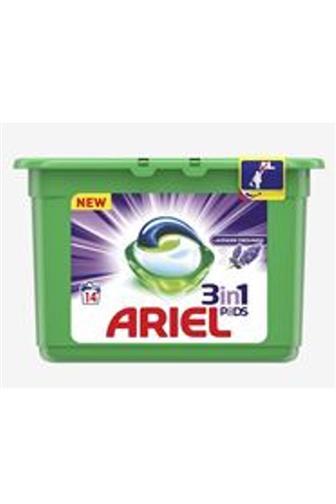 Ariel 3v1 Lavender Fresh gelové kapsle 14 ks