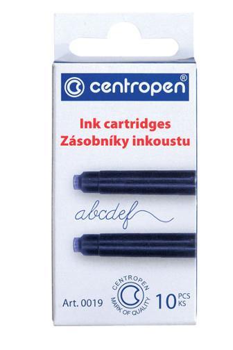 Centropen zásobníky inkoustu 10ks