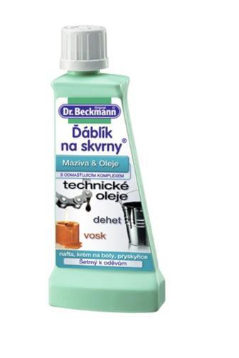 Dr.Beckmann Ďáblík na skvrny dehet, vosk, pryskyřice 50 ml