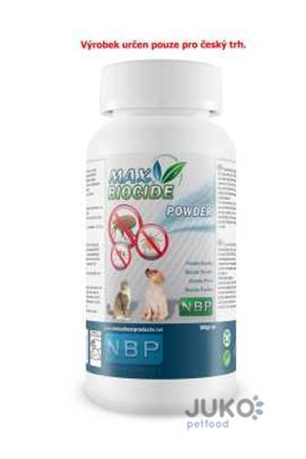 Max Biocide Powder přírodní antiparazitní pudr 100 g