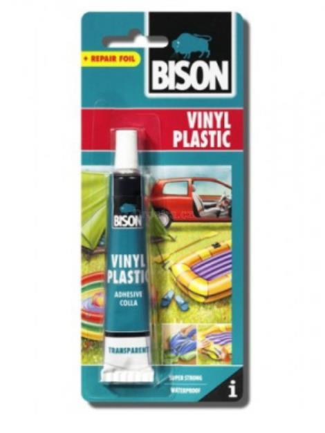 Bison Vinyl Plastic + záplata 25ml