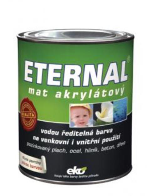 ETERNAL mat akrylátový 22 tmavě zelený 0,7 kg