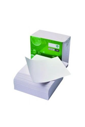 Blok kostka bílá nelepená 9 x 9 x 4,5 cm