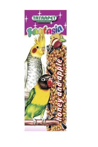 Fantasia tyčinka jablko+med pro papoušky 2 ks
