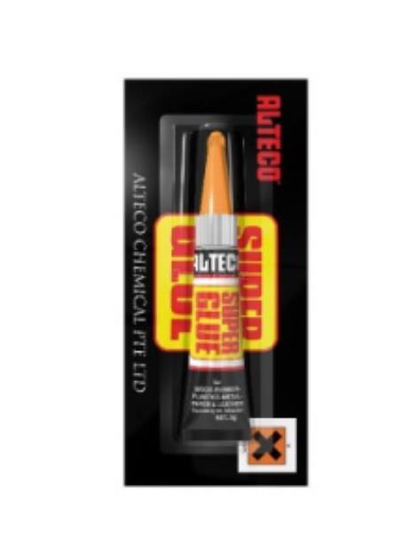 Alteco Super Glue SG-2 vteřinové lepidlo 3g