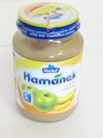 Hamánek s jablky a banány od 5měsíce 190g