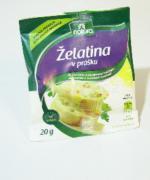 Želatina na vaječnou i salámovou tlačenku 20g