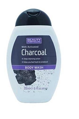 Beauty Formulas sprchový gel s černým uhlím 250 ml