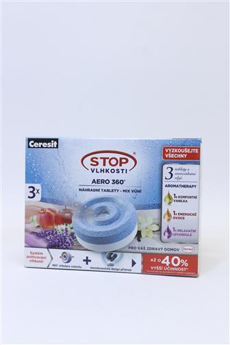 Ceresit Stop vlhkosti 360* - mix vůní 3 x 450 g