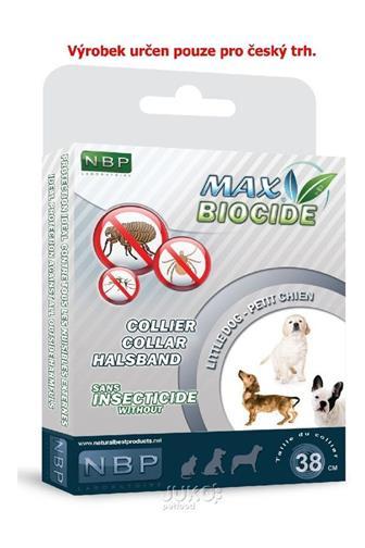 Max Biocide Collar antiparizátlní obojek 38 cm