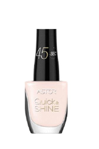 Astor Quick Shine lak na nehty 101 Delicate morning 8 ml