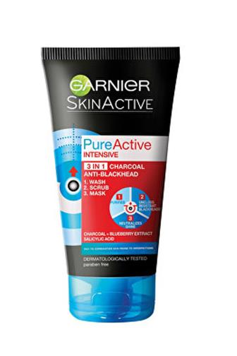 Garnier Pure Active 3v1 proti černým tečkám 150 ml