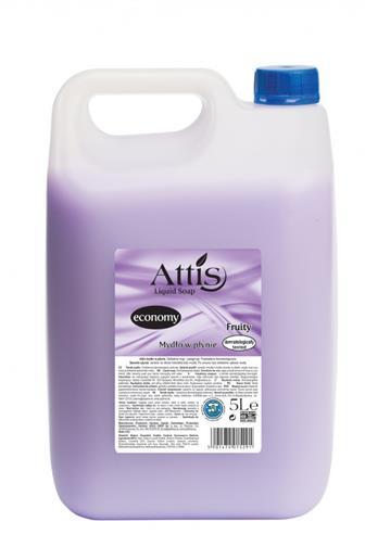 Attis Economy Fruity tekuté mýdlo 5 l