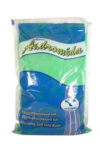 Androméda pěnivá koupelová sůl Eukalyptus 1 kg